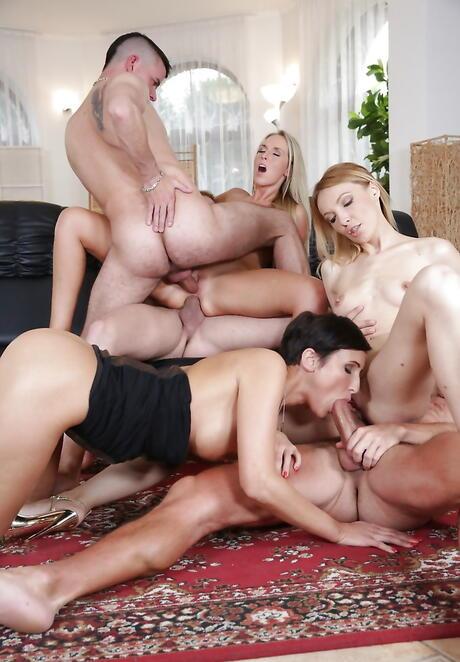 Hardcore Orgy Pics